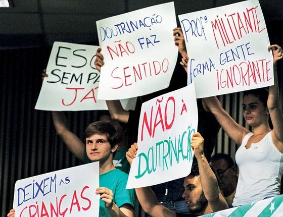 Protesto (Foto: Guilherme Rodrigues/Futura Press)