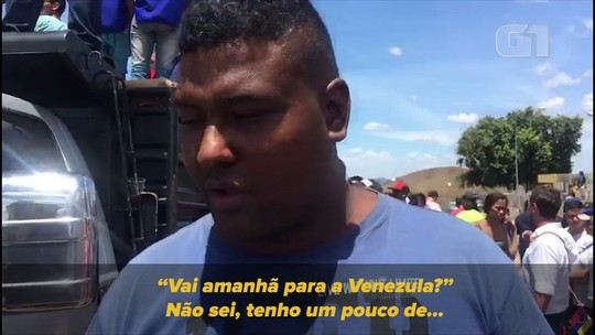 Motorista com ajuda humanitária conta que entrou no Brasil por rota clandestina