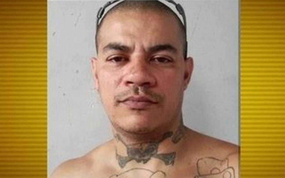 Ricardo Pinheiro, que está desaparecido, tinha tatuagens pelo corpo (Foto: TV Globo/Reprodução)
