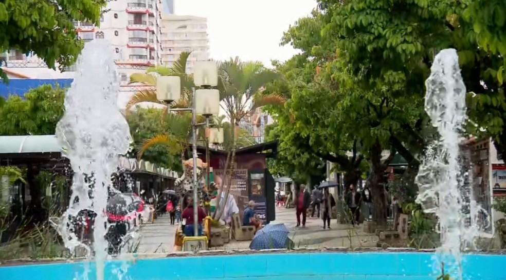 São Lourenço tem 1º feriado com hotéis autorizados a funcionar com 100% de ocupação — Foto: Reprodução/EPTV