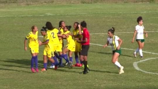 Tiradentes-PI goleia Abelhas Rainhas e bota uma mão na taça da Copa Piauí