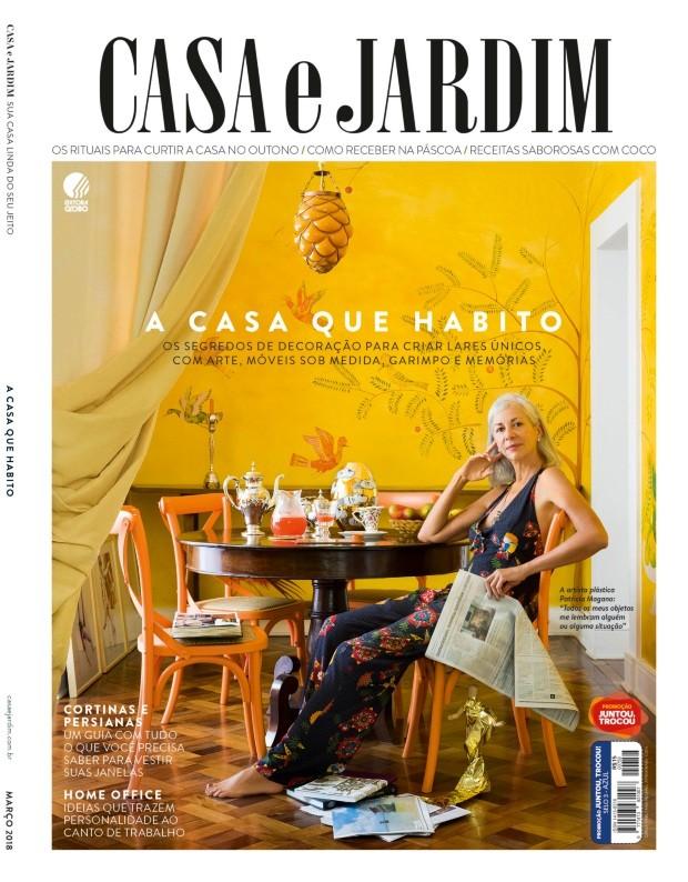 A artista plástica Patricia Magano em sua casa nos Jardins, em São Paulo (Foto: Christian Maldonado / Editora Globo | Produção Bruna Pereira | Realização Maria Beatriz Gonçalves)