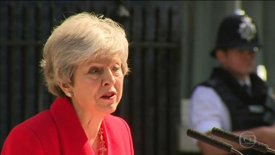 Theresa May comunica que renunciará no dia 7 de junho