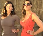 Suzana Pires e Christiane Torloni: Marcela e Tereza Cristina em 'Fina estampa'   Renato Rocha Miranda/ TV Globo
