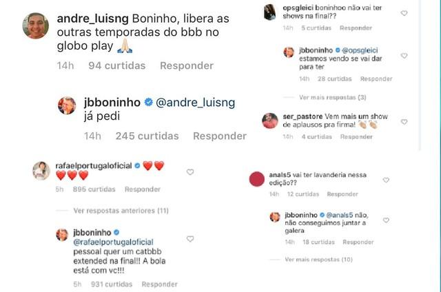"""Boninho dá spoilers da final do """"BBB"""" (Foto: Reprodução)"""