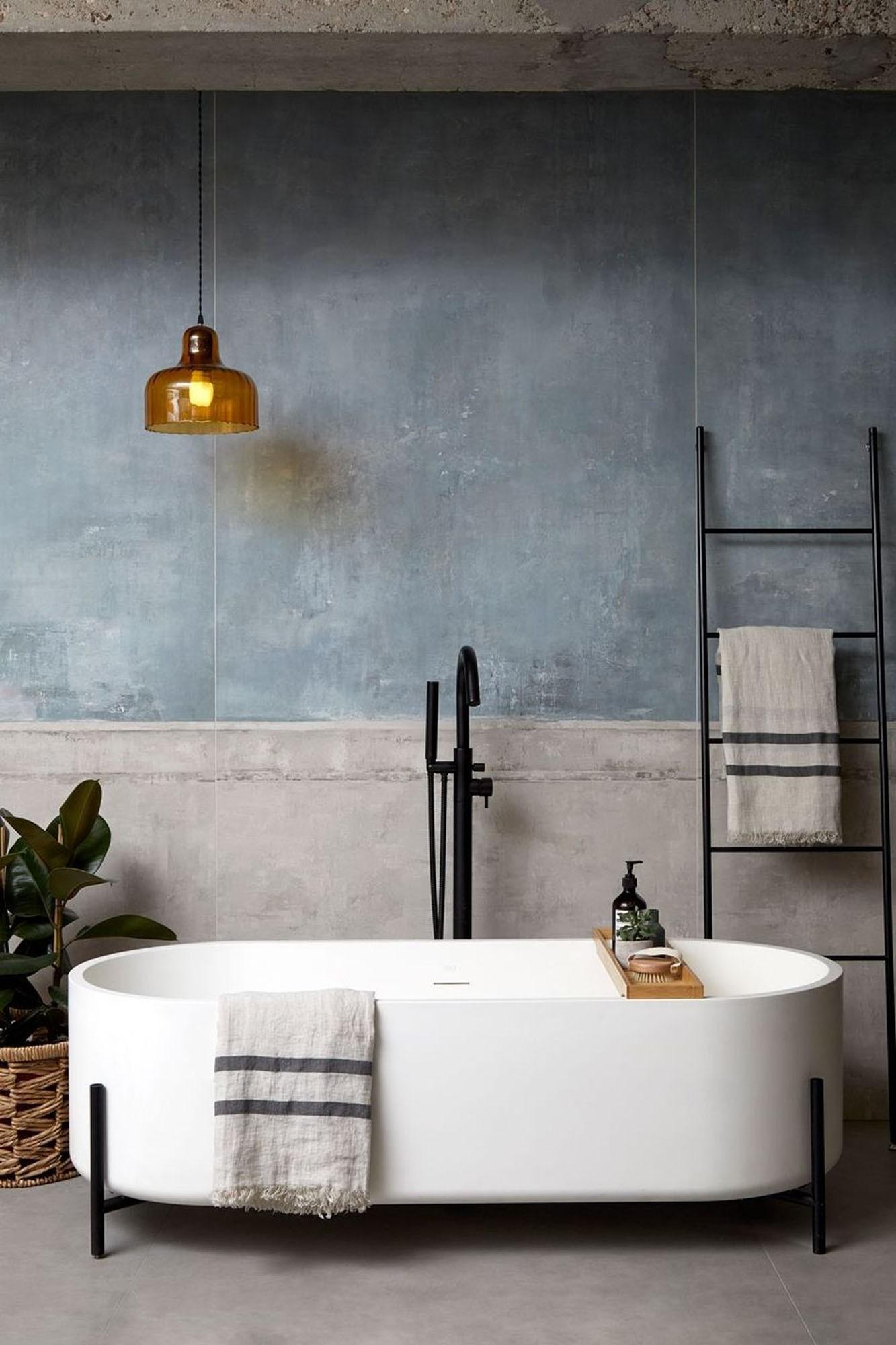Décor do dia: sala de banho em estilo industrial (Foto: Divulgação)
