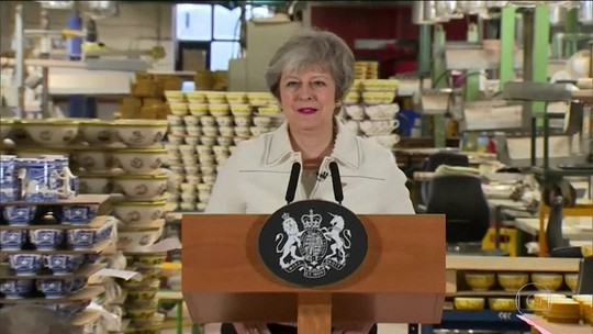 Saída do Reino Unido da UE pode não acontecer, diz Theresa May