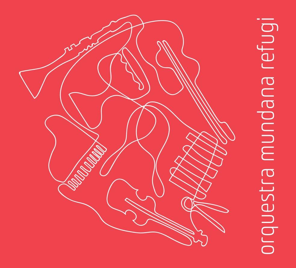 Capa do álbum 'Orquestra Mundana Refugi' (Foto: Divulgação / Selo Sesc)