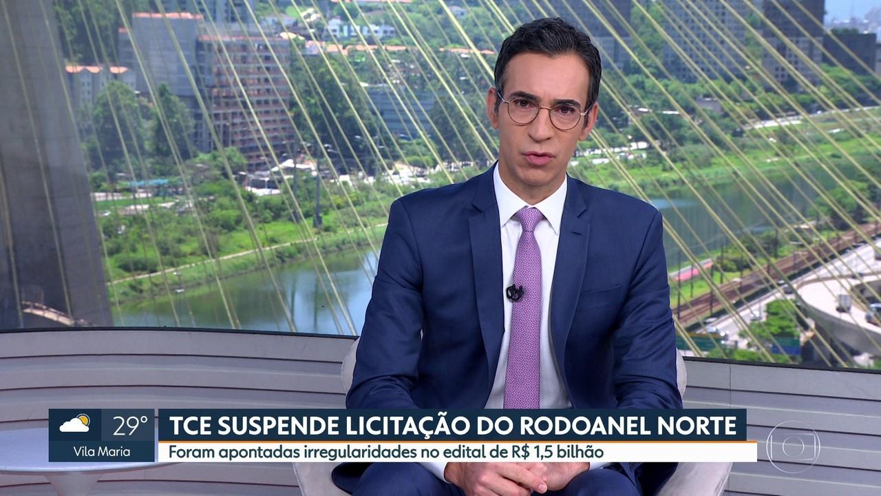 TCE suspende licitação do Rodoanel Norte