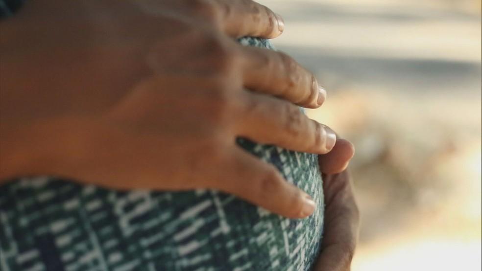 No Distrito Federal, houve 15 grávidas vítimas de SRAG desde 2020; imagem de arquivo — Foto: TV Globo/Reprodução