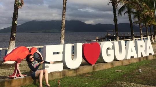 Com direito a passeio ao lado de botos, o Plug se divertiu em Guaraqueçaba
