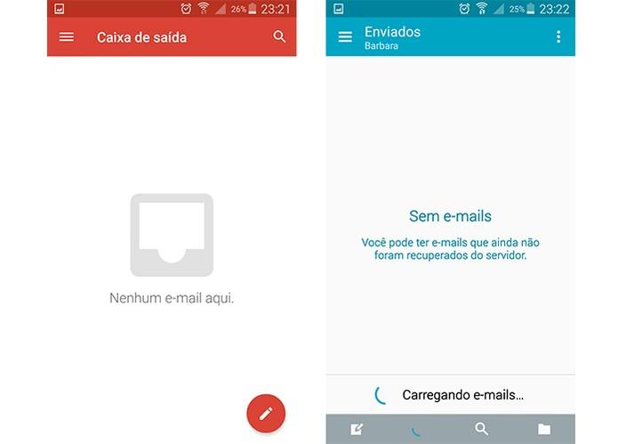 Baixar arquivos ou enviar pelos e-mails também gasta o plano de dados do Android (Foto: Reprodução/Barbara Mannara)