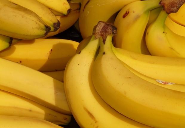 banana fruta tropical (Foto: Pexels)