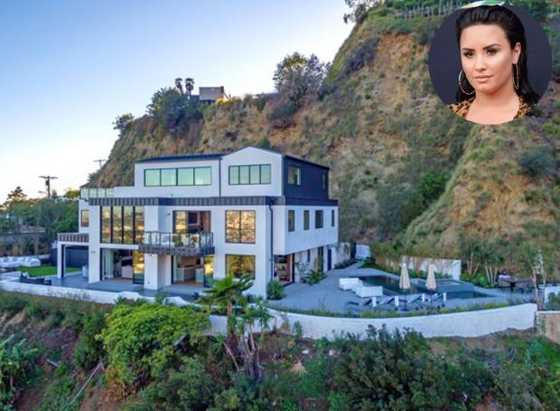 A cantora decidiu vender a casa após ter sofrido overdose (Foto: The MLS.com/ Reprodução)