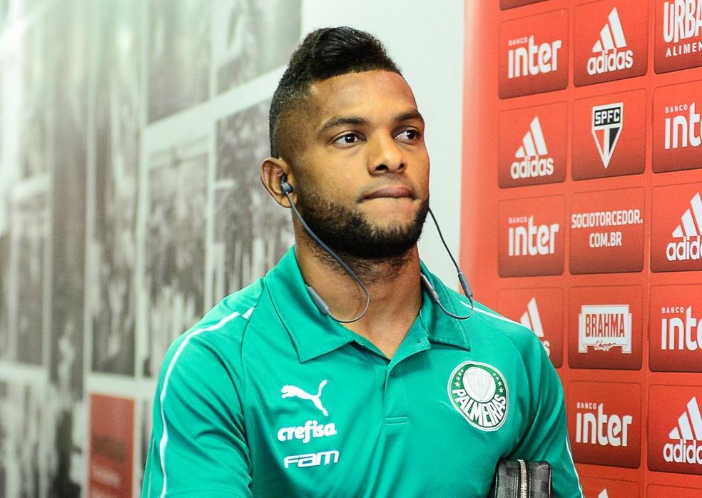 Borja tem sido muito criticado no Palmeiras — Foto: Renato Pizzutto/BP Filmes