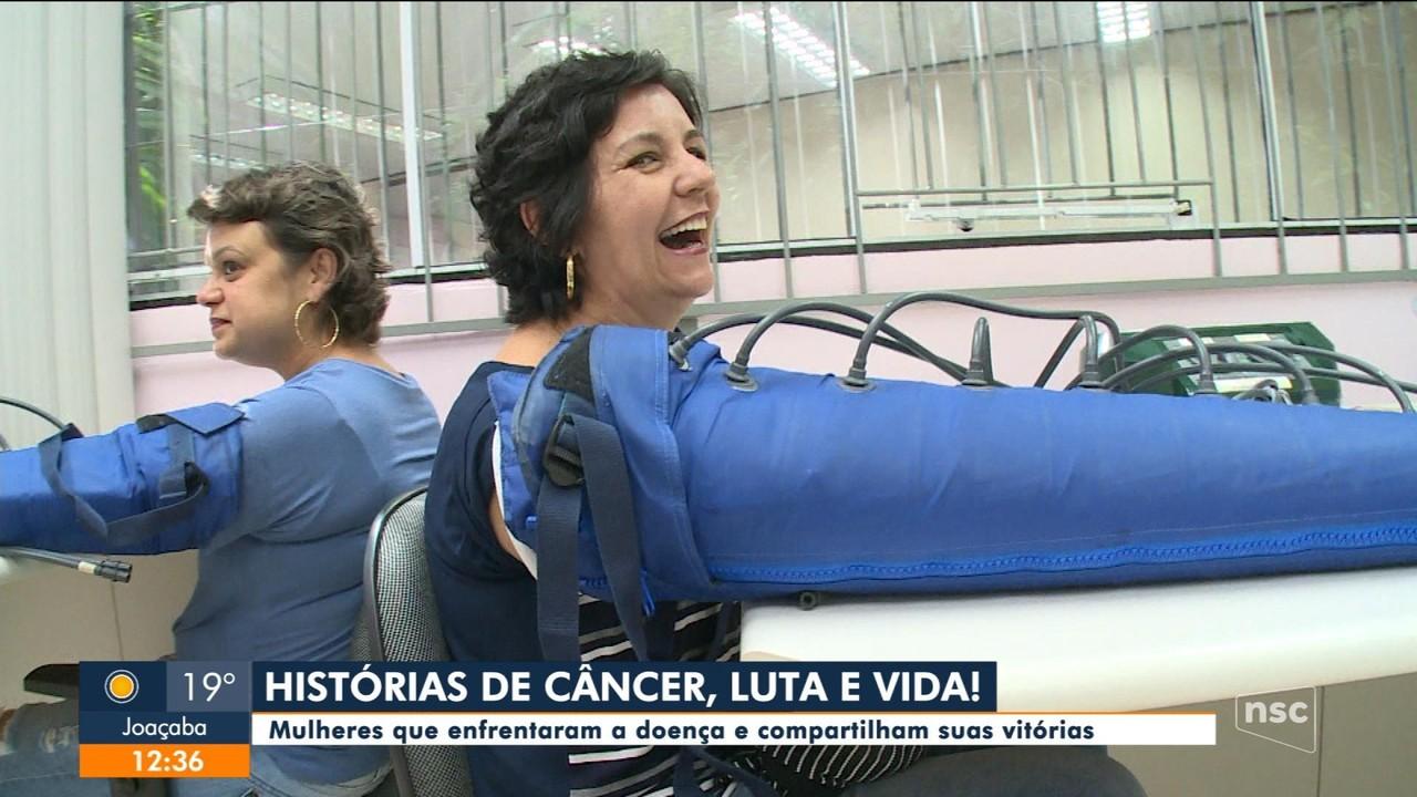 Mulheres de SC vencem a luta contra o câncer