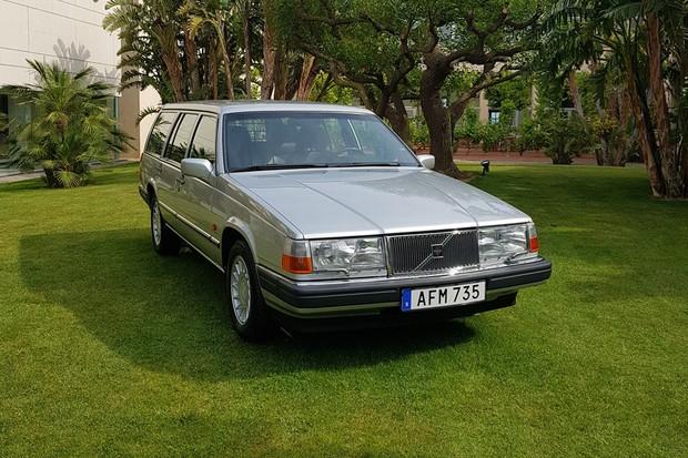 Elegante e durável, Volvo 960 pode ser encontrado no Brasil (Foto: Julio Cabral/Autoesporte)