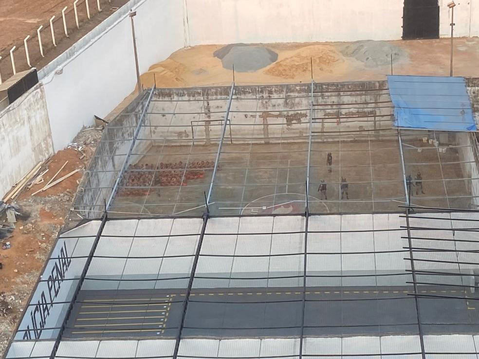 Unidade Penal de Palmas foi um dos presídios alvo da operação — Foto: MPTO/Gaeco