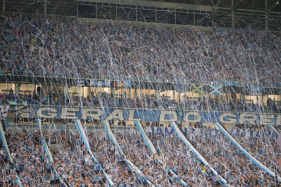 Grêmio demonstra preocupação com inadimplência de sócios — Foto: Wesley Santos/Agência PressDigital