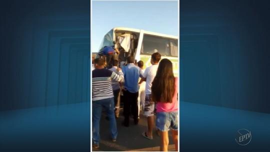 Acidente entre três veículos deixa pelo menos 19 feridos na Fernão Dias