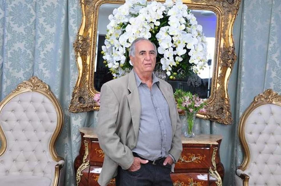 Luiz Flor, de 69 anos, era morador de Presidente Prudente — Foto: Facebook/Reprodução