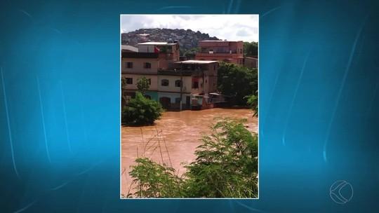 Chuva em Ubá deixa cerca de 170 famílias desalojadas; trabalhos e monitoramento continuam