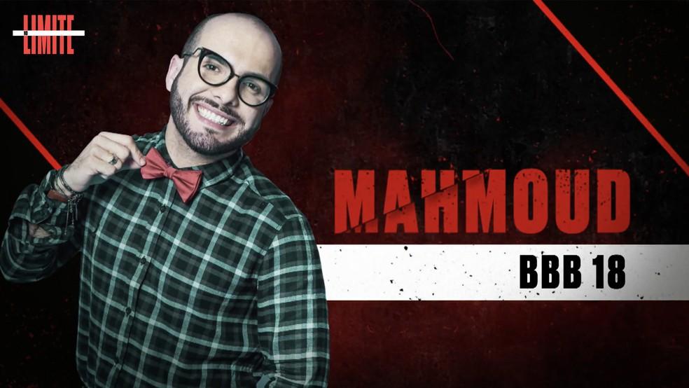 Mahmoud é um dos participantes do 'No Limite' ? Foto: Globo