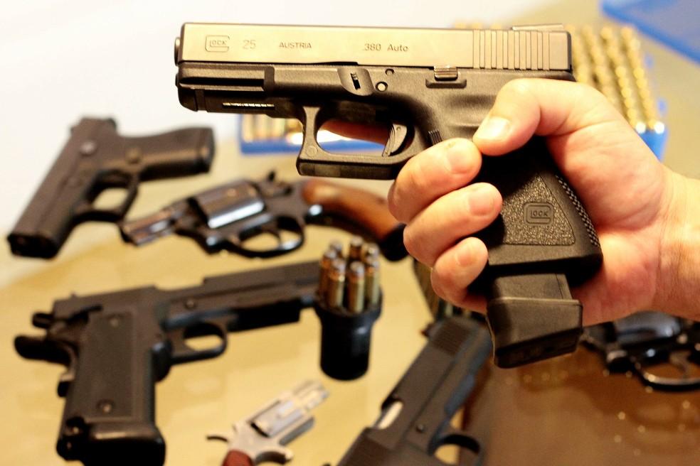 Imagem ilustrativa para armas e munições — Foto: Roberto Vazquez / Futura Press / Estadão Conteúdo