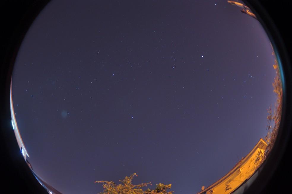Fotógrafo registra corpos celestes em céu claro de Santos (SP) — Foto: Arquivo Pessoal/Jamil Vila Nova
