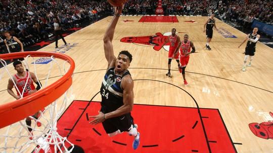 Veja o Top 10 das melhores jogadas da noite da NBA