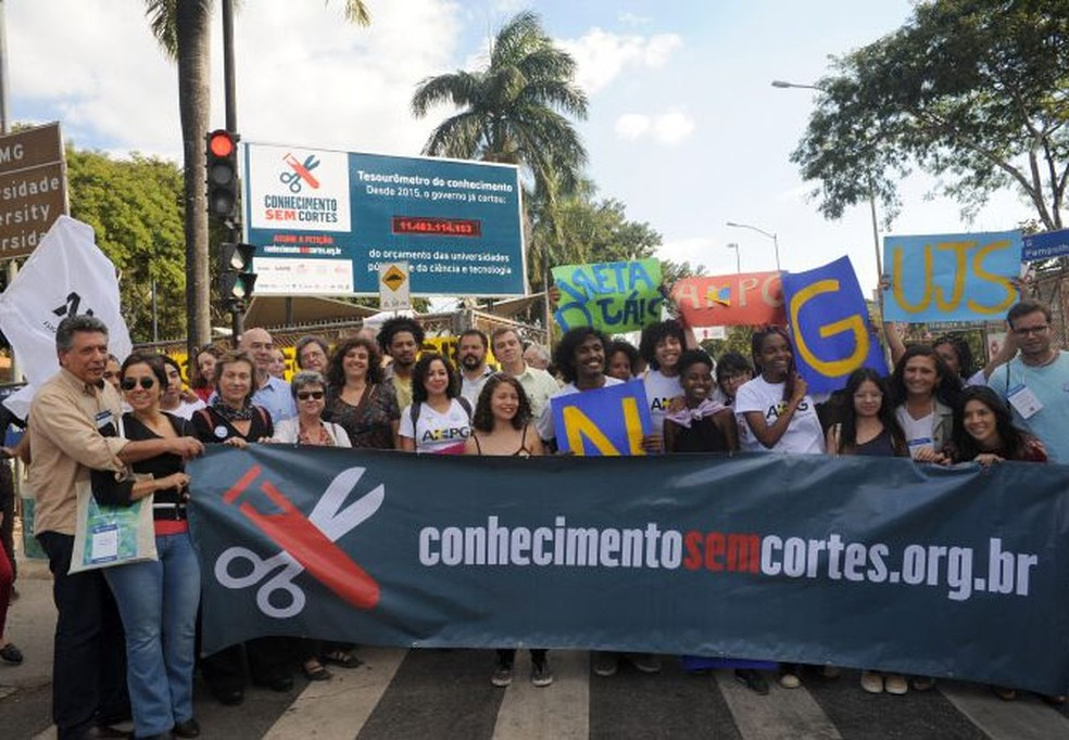 'Tesourômetro' é inaugurado na UFMG.  (Foto: Carol Prado/UFMG/Divulgação)