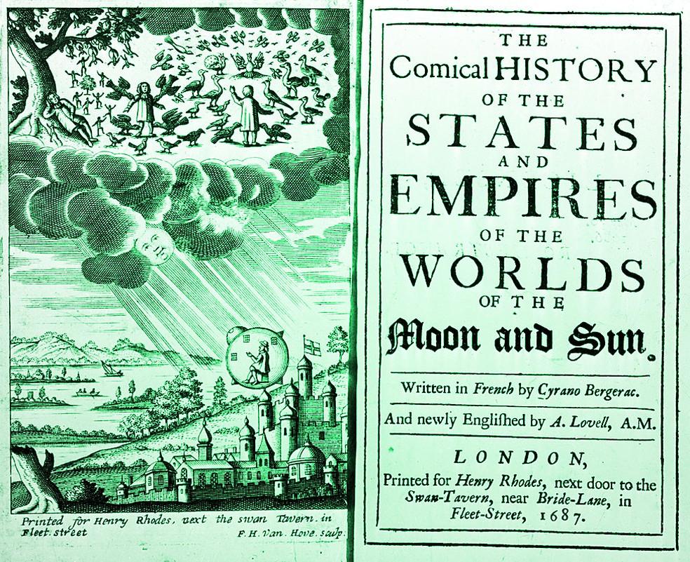 """'A História Cômica dos Estados e Impérios dos Mundos da Lua e do Sol"""" foi uma sátira da era das descobertas e conquistas — Foto: Getty Images"""