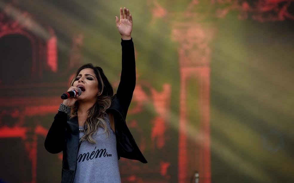 Cantora gospel Gabriela Rocha — Foto: Flavio Moraes/G1/Arquivo