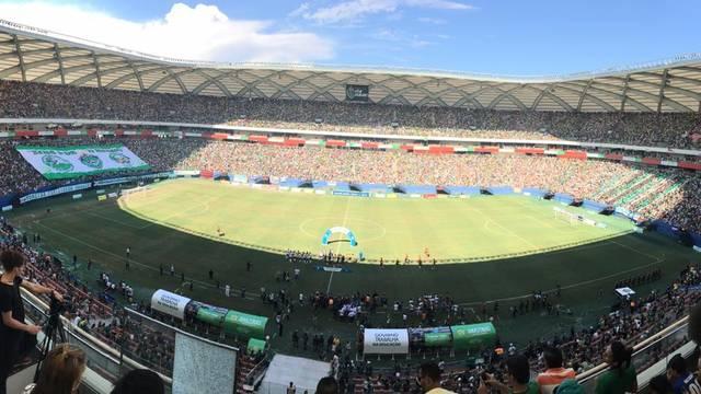 Arena da Amazônia tem público recorde