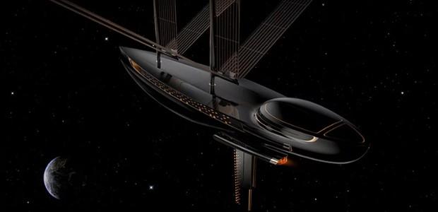 Designer cria veleiro impresso em 3D para navegar no espaço (Foto: Divulgação)