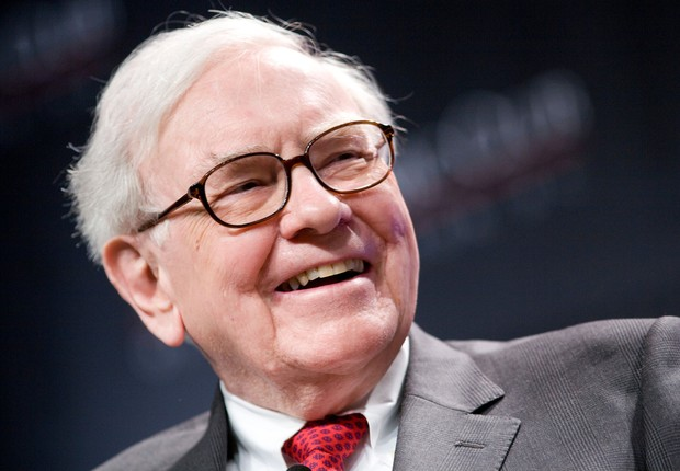 O bilionário norte-americano Warren Buffett , CEO da Berkshire Hathaway (Foto: Getty Images)