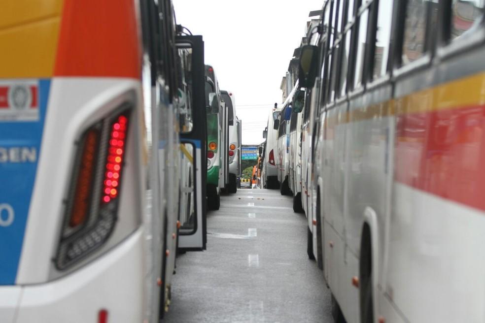 Proposta das empresas é aumentar passagem de ônibus em 14,13% — Foto: Marlon Costa/Pernambuco Press