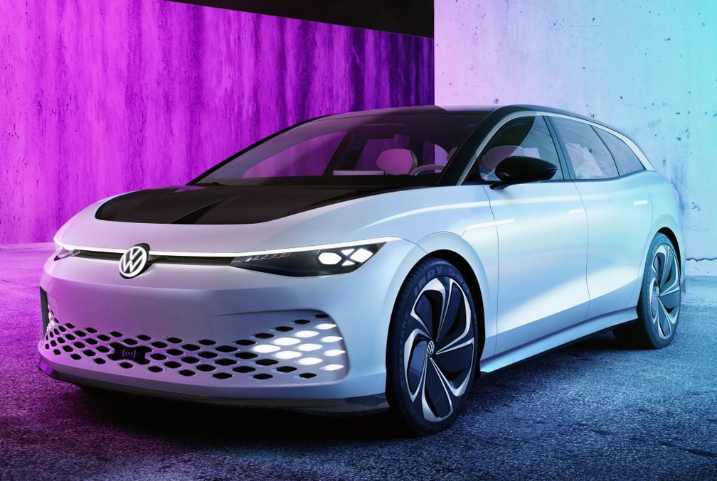 Volkswagen ID. Space Vizzion — Foto: Divulgação/Volkswagen