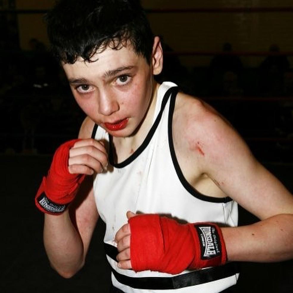 Rowan era um boxeador amador desde os 12 anos — Foto: Reprodução/Instagram