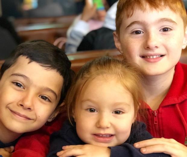 Filhos de Claire Haiek (Foto: Reprodução/Instagram)