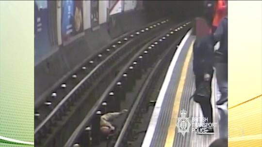 Homem pega prisão perpétua por empurrar passageiros em Londres