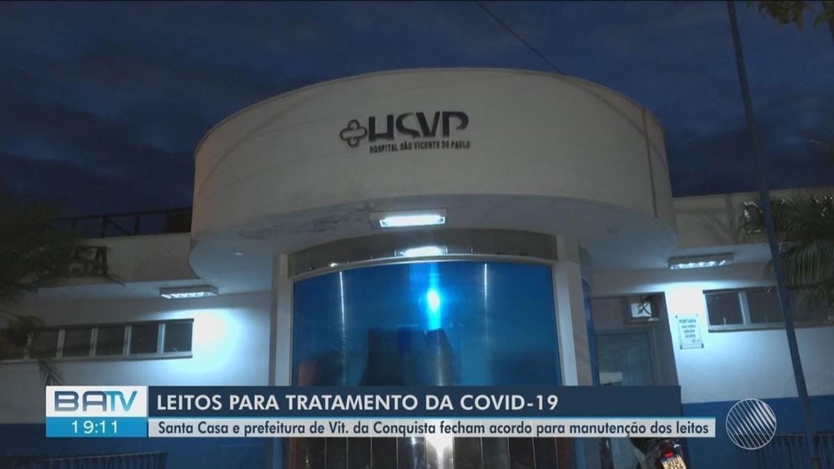 Após anunciar desistência, Santa Casa faz acordo temporário com prefeitura de Vitória da Conquista sobre leitos Covid