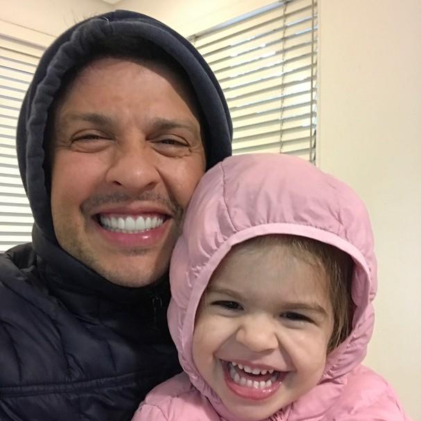 Ceará e Valentina (Foto: Instagram/Reprodução)