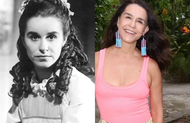 Lucélia Santos foi a protagonista de 'Sinha moça', novela exibida pela Globo em 1986, que acaba de voltar ao ar no Viva . O último trabalho dela na Globo foi na 'Dança dos famosos' (2014). No ano passado, a atriz ficou em cartaz com o monólogo 'Teresinha' (Foto: Acervo Globo / Marcos Ramos)
