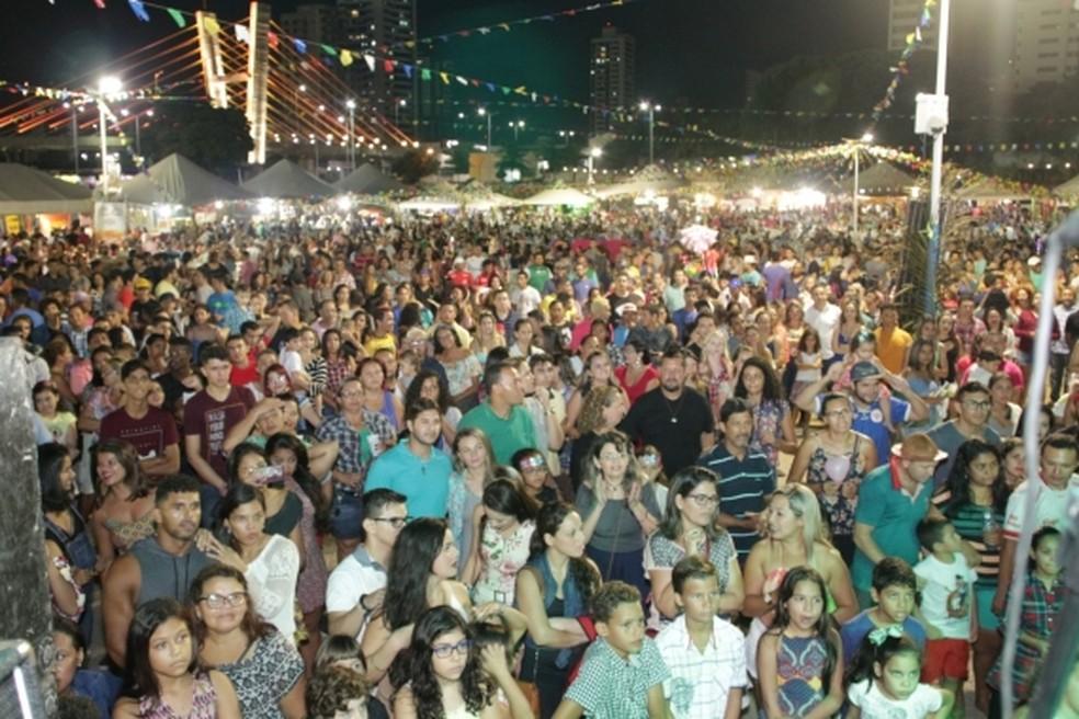 Arena das Dunas recebe festival junino (Foto: Rogério Vital)