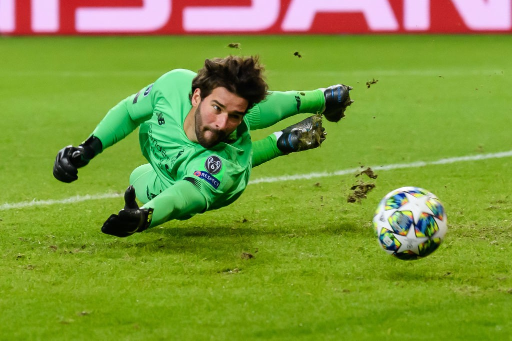 Alisson Becker (Foto: Getty Images)
