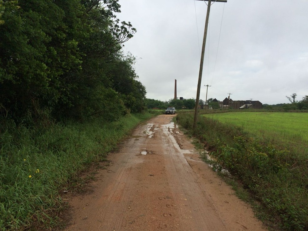 Corpos foram encontrados em área rural de Eldorado do Sul (Foto: Polícia Civil/Divulgação)