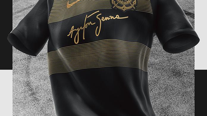 989d547c2d Camisa do Corinthians é eleita a 2ª mais bonita do mundo por site   Palmeiras está entre as mais feias
