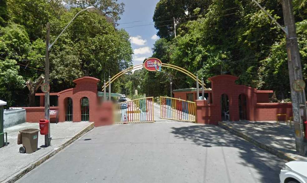 Parque Estadual de Dois Irmãos fica na Zona Norte do Recife — Foto: Reprodução/Google Street View