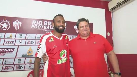"""""""O Rio Branco pode esperar o melhor de mim"""", diz meia, melhor da América no Fut7 em 2018"""